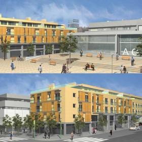 Edificio plurifamiliar de 24 pisos, 9 locales comerciales y parking